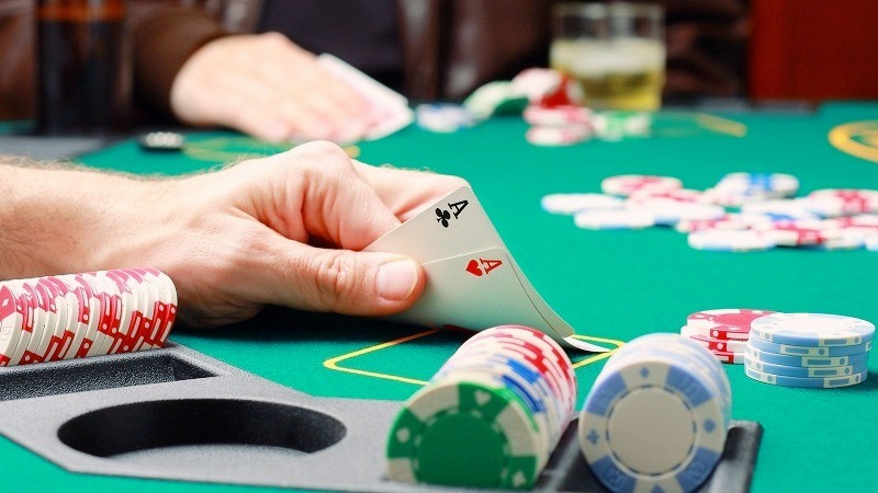 Poker is a game that requires players to be smart